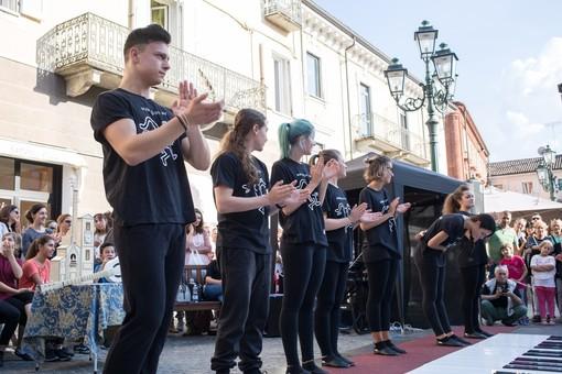 Un'esibizione del Pianoforte Gigante (foto d'archivio)