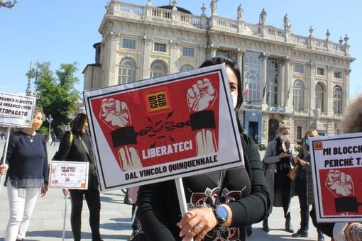 protesta degli insegnanti