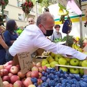 Paolo Damilano al mercato di Santa Rita di corso Sebastopoli