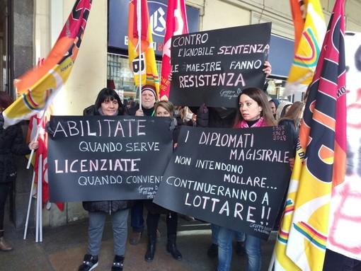 Il 29 maggio maestre diplomate di nuovo in piazza anche a Torino