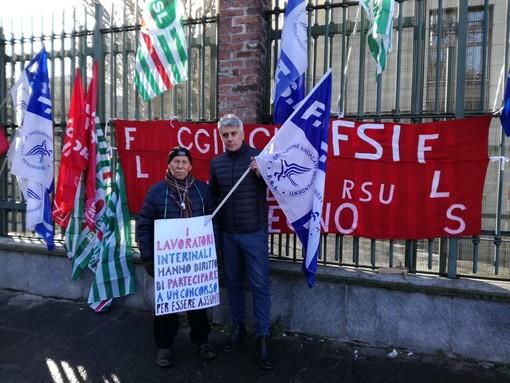 AslTo3, protesta davanti all'assessorato regionale alla Sanità contro i vertici dell'azienda