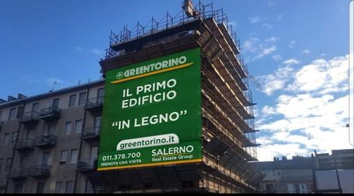Nasce a Torino GreenTorino, il primo palazzo di 7 piani costruito interamente in legno
