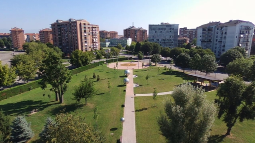 Orbassano, inaugurato il parco Galileo Galilei: rappresenta il sistema solare