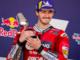 Pecco Bagnaia in testa alla classifica mondiale del motogp