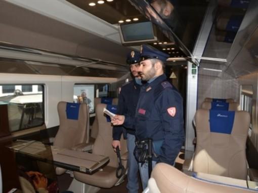 Anche in Piemonte la Polizia di Stato contro i comportamenti illeciti sui treni