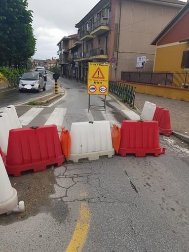 ponte chiuso ad Alpignano