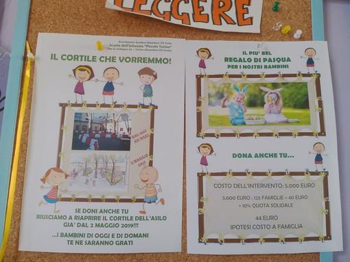"""La materna """"Piccolo Torino"""" si rifà il look: e i lavori li finanziano i genitori e i commercianti della zona"""