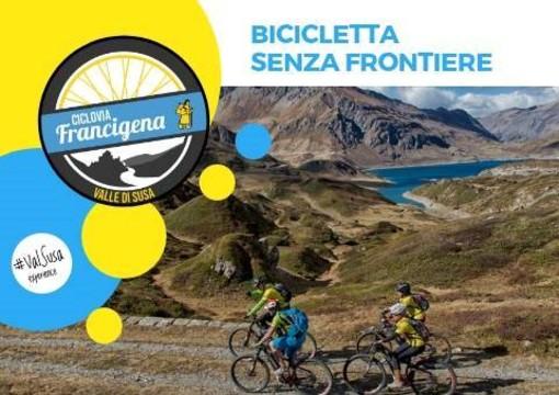 """Moncenisio tiene a battesimo il progetto """"Bicicletta senza frontiere"""""""