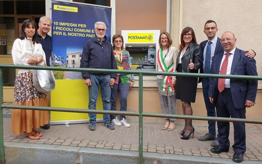 Installato il primo Postamat dell'ufficio postale di Bosconero