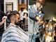 parrucchiere, taglio capelli collage