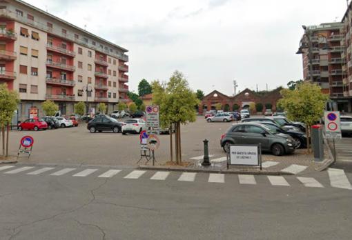 Piazza Garibaldi a Crescentino