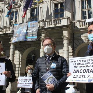 Protesta anti Ztl a Torino, Mino Giachino