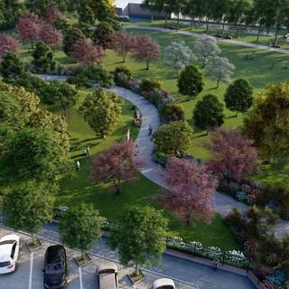 Un parco in pieno centro città: iniziati i lavori in via Amendola a Settimo