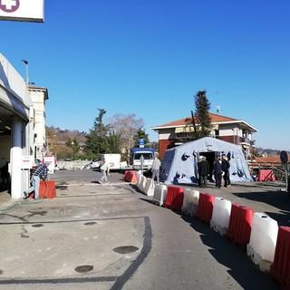 Smontate le tende della Protezione Civile a Chieri e a Moncalieri