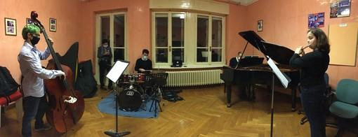 Quartetto di musicisti jazz