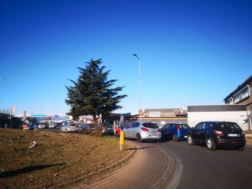 Moncalieri, caos e disagi alla circolazione per il cantiere in borgo Navile