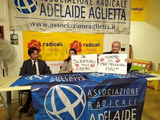 I Radicali Italiani in sciopero della fame contro la riforma della prescrizione