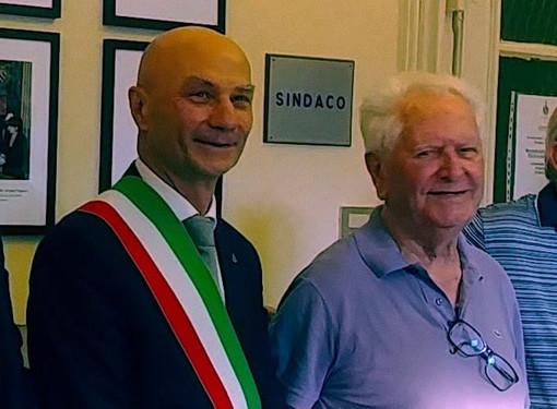 Domenico Rostagno con suo figlio Alberto