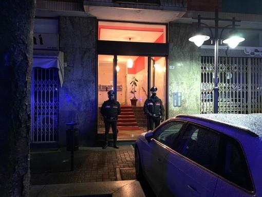 carabinieri dopo la strage di Rivarolo