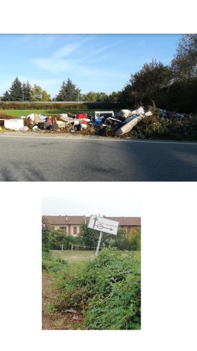 """Favria, illeciti abbandoni di rifiuti. Il sindaco Bellone: """"Stiamo indagando per scovare i responsabili"""""""