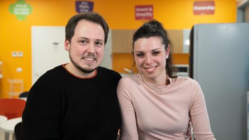Simona, 25 anni, e Francesco, 29