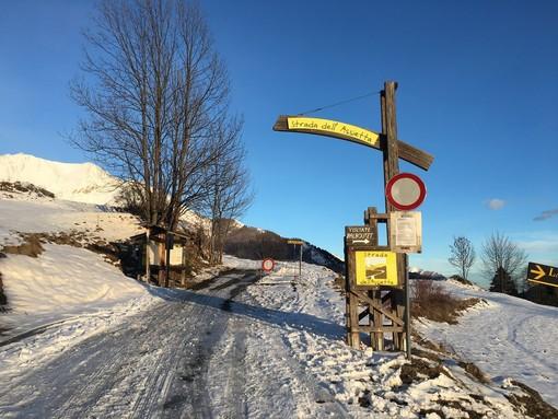 Strada per Pian dell'Alpe
