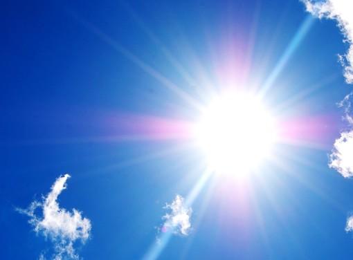 bel tempo e sole - foto d'archivio