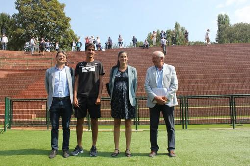 inaugurato il nuovo stadio del tennis allo sporting