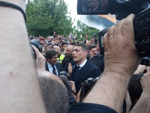 In migliaia a Superga per l'omaggio al Grande Torino [FOTO E VIDEO]