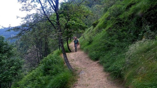 Più sicuri e agevoli i sentieri del parco di Conca Cialancia