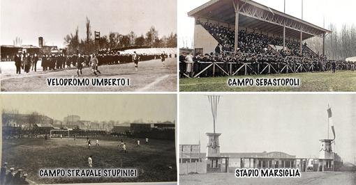 Gli stadi dimenticati di Torino: Velodromo Umberto i, Campo Sebastopoli, Campo Strada Stupinigi e Stadio Marsiglia