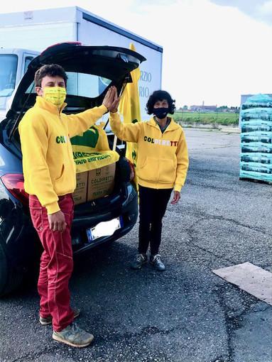 Altre 200 famiglie torinesi bisognose aiutate dalla Spesa solidale di Coldiretti