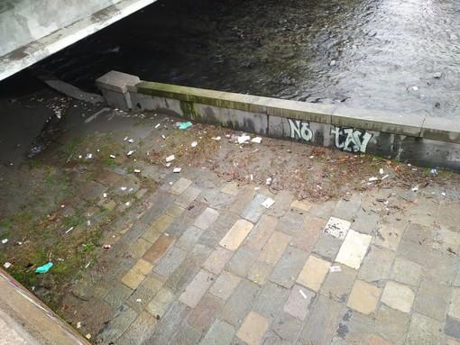 siringhe sotto il ponte di corso regio parco