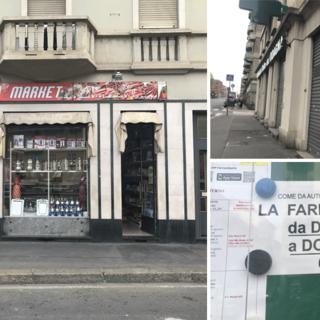Le due facce di corso Giulio Cesare: ad agosto negozi italiani chiusi, aperti quelli etnici [FOTO]