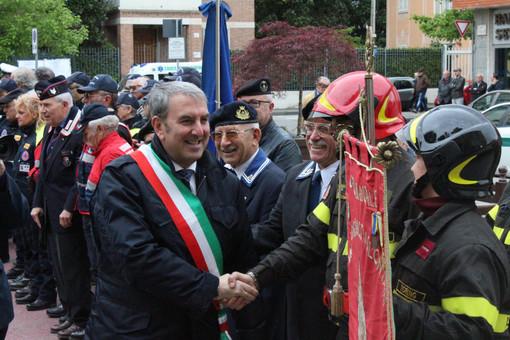 """25 aprile a Venaria, Falcone: """"Non ricordiamoci solo della libertà, ma di come saperci liberare"""" [FOTO]"""