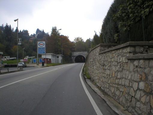 Giovedì 13 transito vietato sul viadotto di strada Traforo del Pino