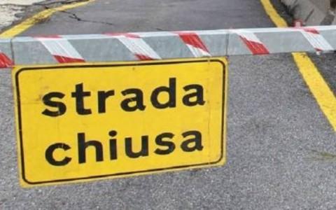 strada chiusa
