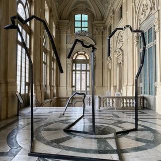 A Palazzo Madama, il pubblico accolto dalle Sentinelle e dagli Ingranaggi di Carlo d'Oria