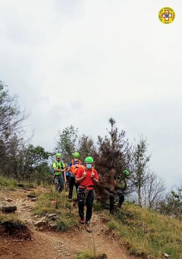 Escursionista infortunata sul Musiné, soccorsa prima del temporale