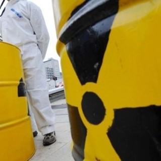 scorie nucleari - foto di archivio