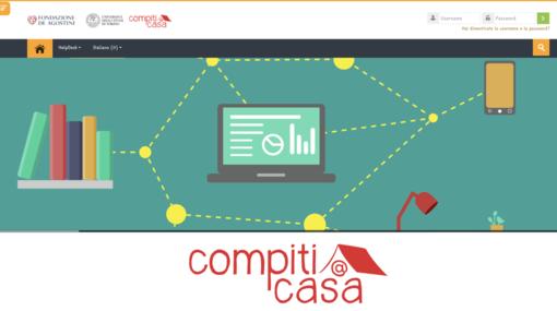immagine del sito 'compiti a casa'