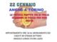 Un volantino che annuncia forme di protesta nel commercio a Borgaro Torinese