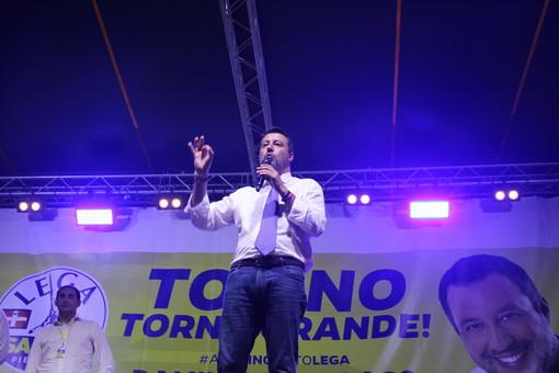 Matteo Salvini a Torino