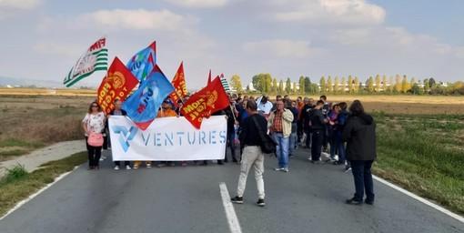 Embraco-Ventures, nuovo sciopero e manifestazione degli operai [VIDEO]