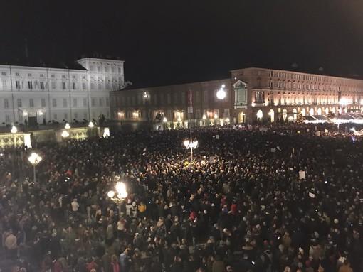 """La senatrice Segre smentisce le Sardine di Torino: """"Non ho inviato alcun messaggio alla manifestazione"""""""