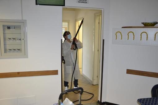 Coronavirus, a Nichelino sanificati il Grosa e gli altri centri d'incontro