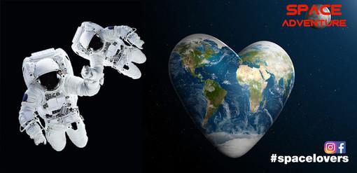 #Spacelovers, San Valentino a Space Adventure: un ingresso gratuito per le coppie che entrano alla mostra scambiandosi un bacio