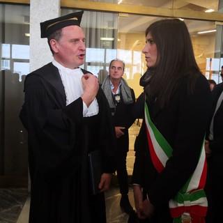 """Il ministro Manfredi dal Politecnico di Torino: """"Quattrocento milioni sull'edilizia universitaria"""" [FOTO e VIDEO]"""
