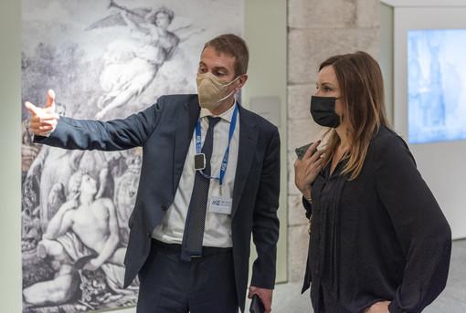 Cultura, il sottosegretario Borgonzoni in visita al Museo del Cinema e all'Egizio