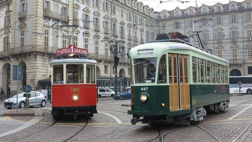Tredicesimo Trolley Festival in piazza Castello: la festa dei tram storici dall'Italia e dalla Germania